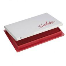 Almofada Carimbos Nº2 7x11cm Scriva Vermelho