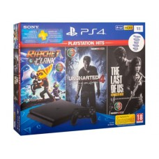 Consola Playstation 4 - PS4 1TB + Ratchet and Clank + The Last of Us + Uncharted 4