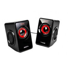 Colunas MARS GAMING 10W RMS, Vibro-Subwoofer Ultra Bass, Remote Volume Control - MS1