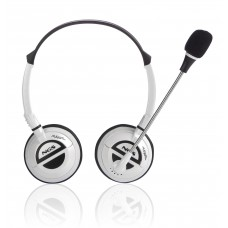 NGS - Headphone c/ mic Branco WHITEMSX6PRO