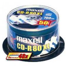 MAXELL - CD-R 80 52X 700MB TORRE 100-624841.41.CN